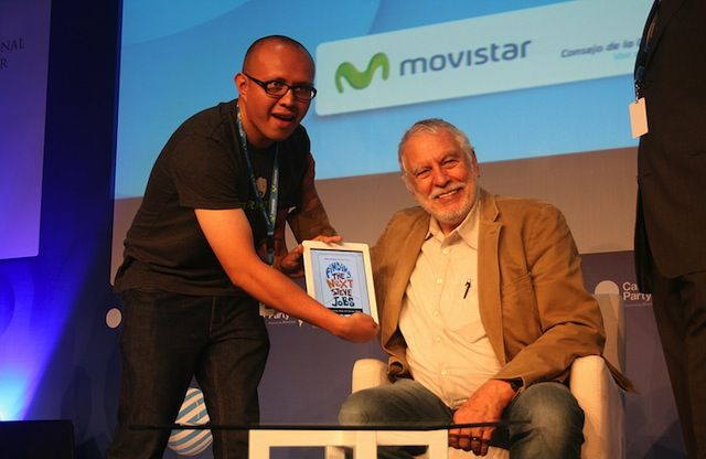 Atari Founder Nolan Bushnell: Managing talent should include more fun and games Photo: Flickr/Campus Party Mexico