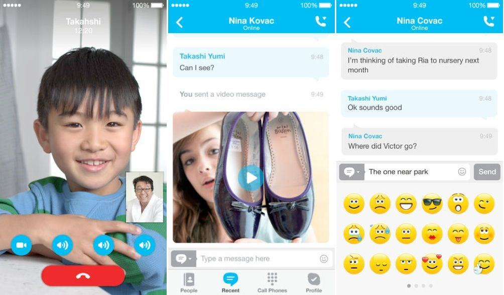 Skype For iOS Gets New 'Refreshed Look And Feel' For iOS 7 | Cult of Mac