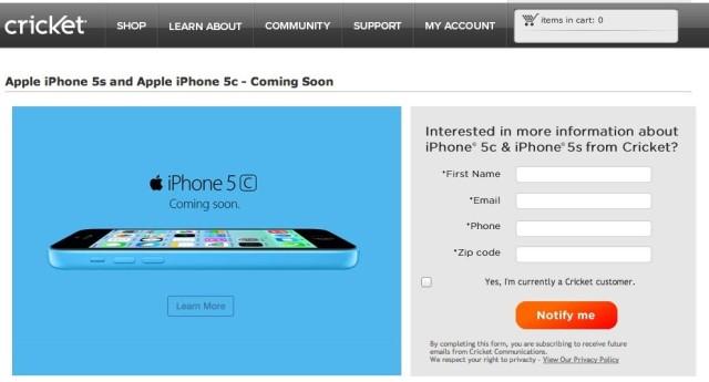 Cricket-iPhone-5s-5c