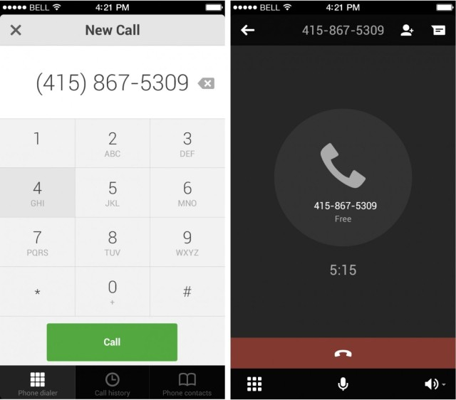 google hangouts for ios can now make free voice calls in u