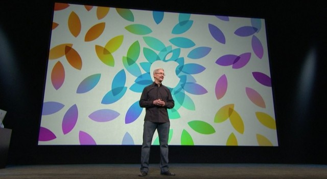Tim Cook iPad Event