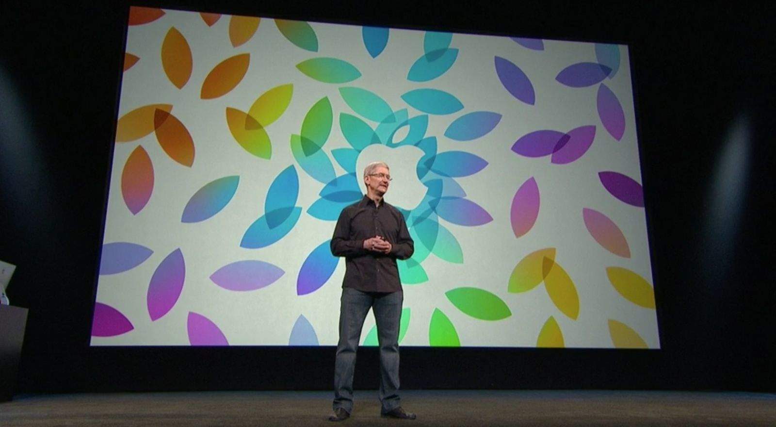 Tim Cook iPad Event