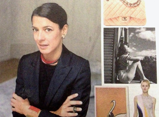 Dior designer Camille Miceli in the Wall Street Journal.