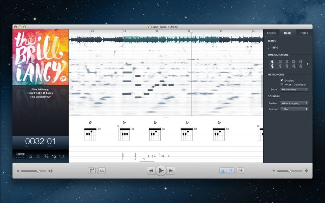 Capo 3 For Mac Arrives With Automatic Chord And Beat Detection