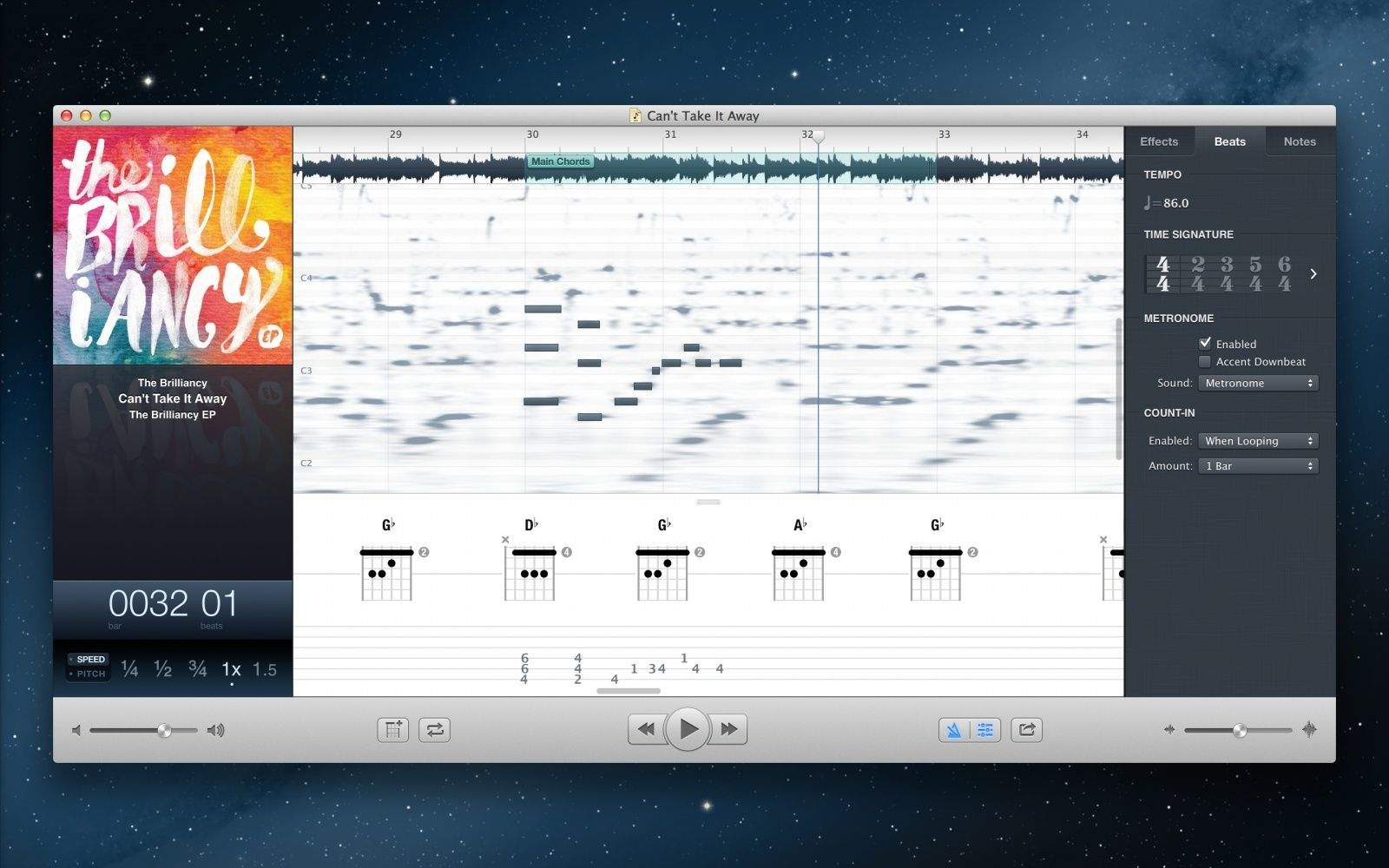 Capo 3 For Mac Arrives With Automatic Chord And Beat