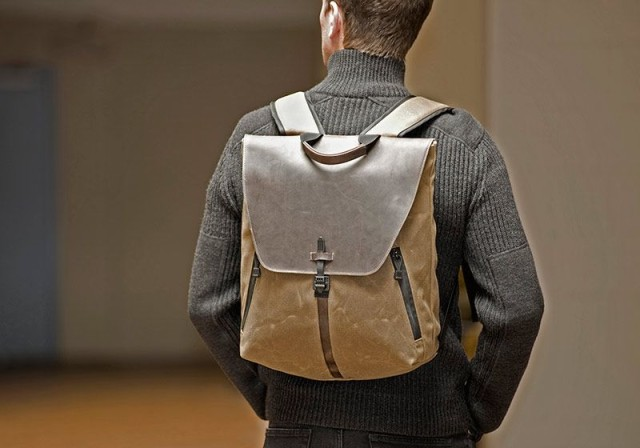 staad-backpack-lifestyle-man-carrying-stout-waxed-canvas