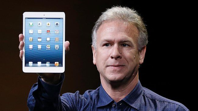 Apple's marketing chief, Phil Schiller, is ready to shake up the advertising world
