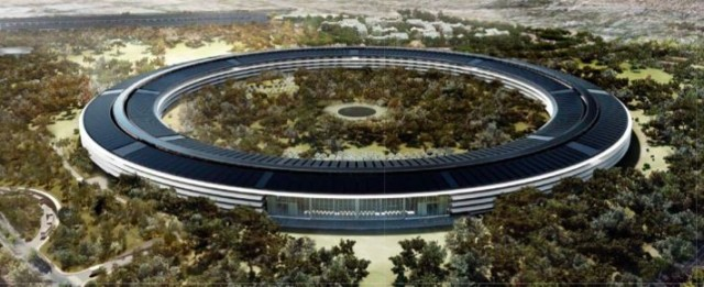 Drone flyover shows how Apple's Campus 2 is coming together