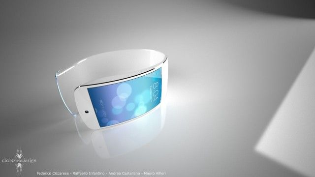(an iWatch concept design)