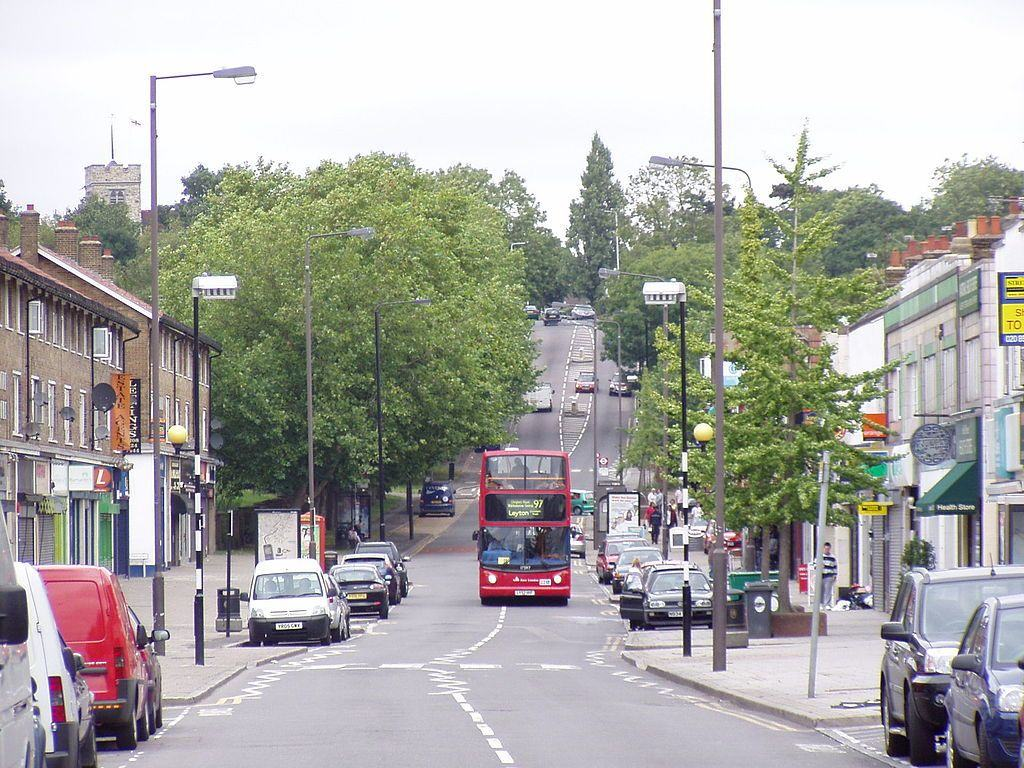 Chingford, birthplace of Jony Ive and final resting place of the Kray twins. Image from Wikimedia Commons: http://en.wikipedia.org/wiki/File:Chingford_Mount_(Old_Church_Road)_Chingford_-_geograph.org.uk_-_2638823.jpg