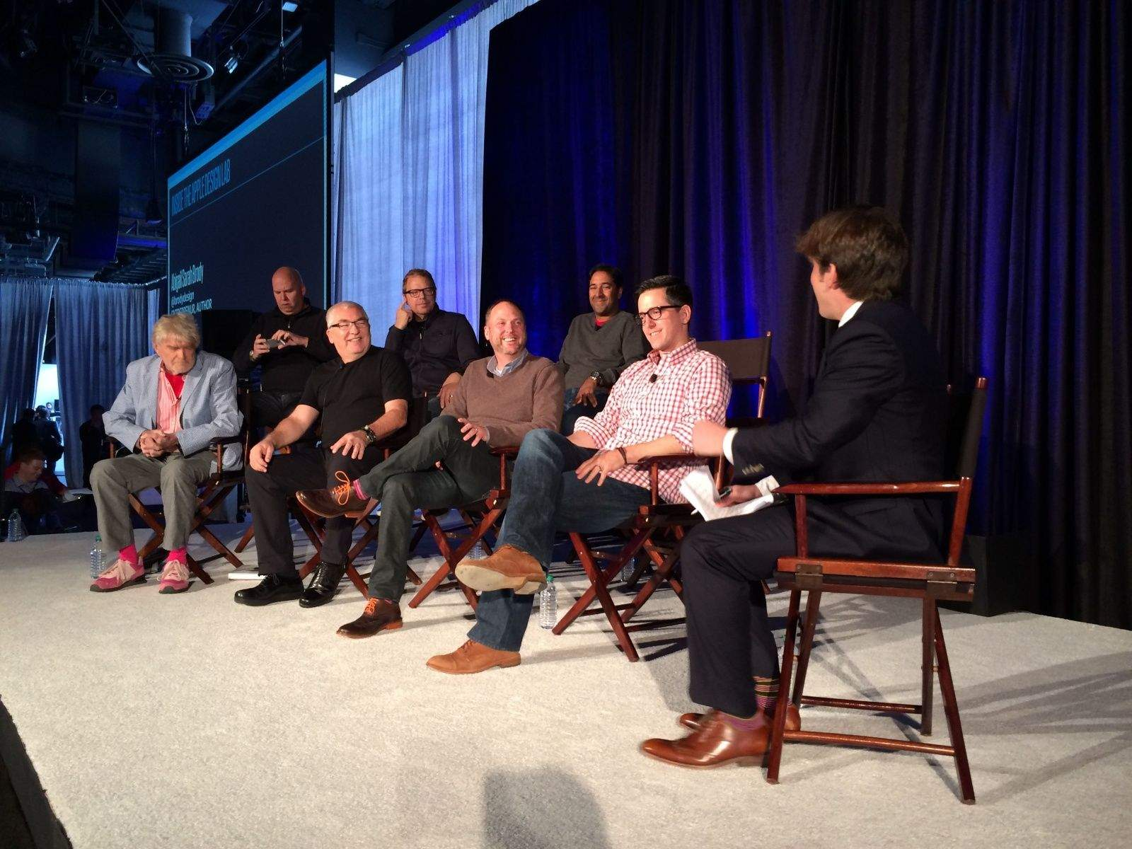 Fast Company's panel of ex-Apple designers. Photo: Leander Kahney.