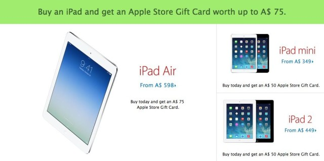 apple store special deals