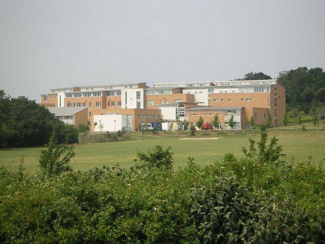 A view of the rear of Walton High School and sports fields. Creative Commons-licensed photo by Mr Biz: http://www.geograph.org.uk/photo/209284