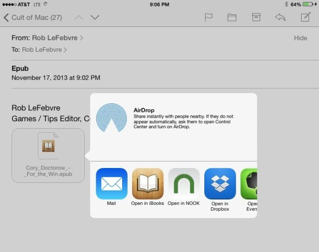 How To Add Epub Books To Your iPad Without iTunes [iOS Tips] | Cult