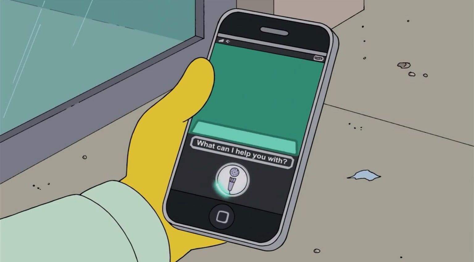 Siri-The-Simpsons