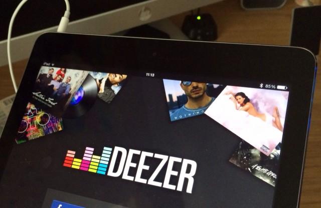 Deezer-iPad