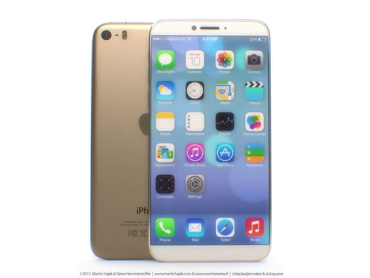 here 39 s what a 4 8 inch gold iphone 6 might look like. Black Bedroom Furniture Sets. Home Design Ideas