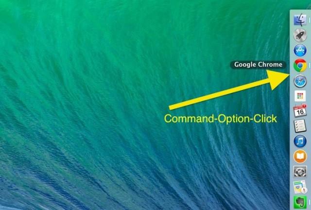 Command-Option-Click