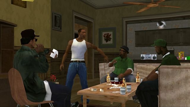 San Andreas borrows liberally from movies like Menace II Society.