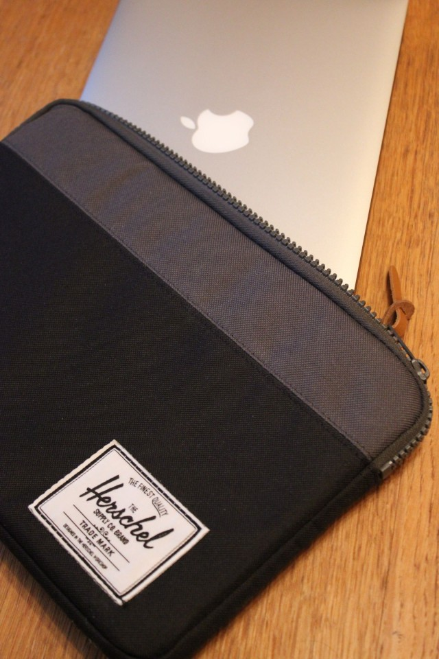 You'll fit your Macbook Air. And nothing else.