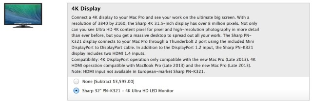 Sharp-4K-monitor-Mac-Pro