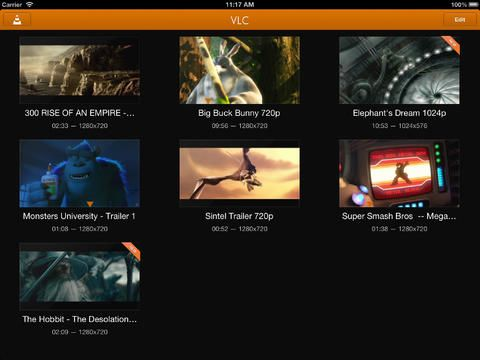 iOS VLC will play just about any media file you throw at it.