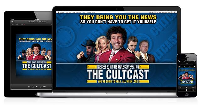 cultcast news team