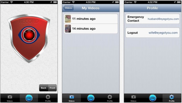 Security App Streams Live Video To Contact Or Cloud When Danger Is