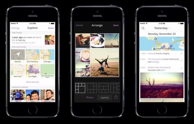 heyday app tracks your every move to make amazing photo diary cult