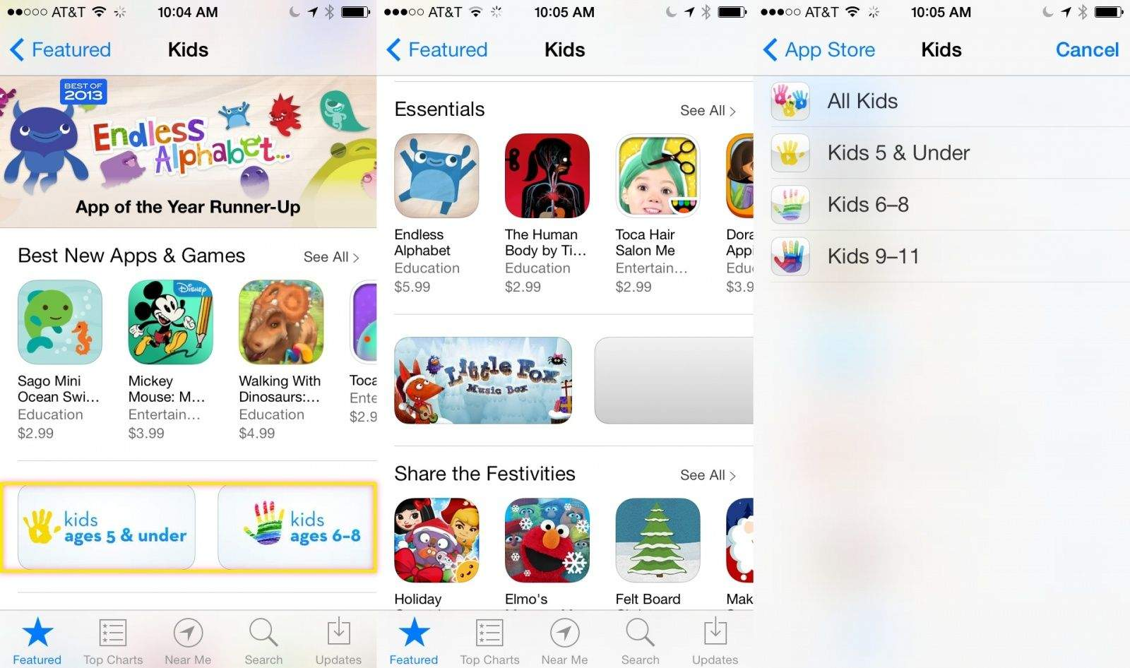 kids apps and games