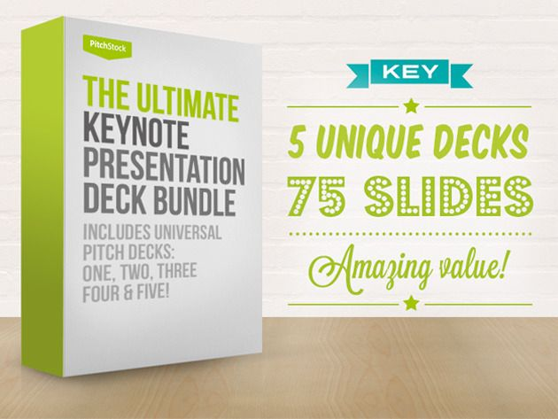 Pitch Like A Pro With The Ultimate Keynote Presentation Bundle