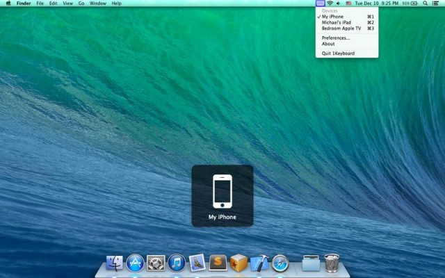 use the ipad as keyboard for mac