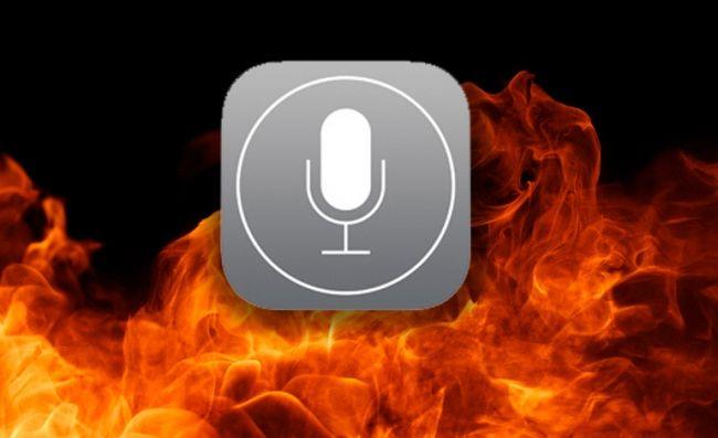 Siri, go die in a fire, ok?