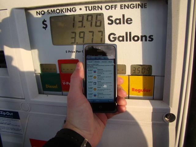 Seriously, who smokes at the pump anymore?