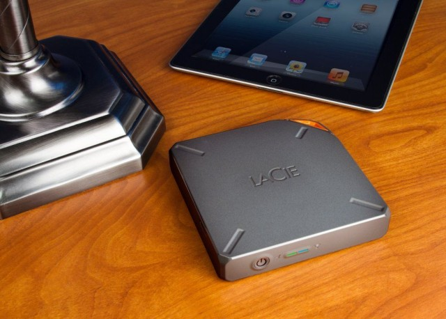 Lacie S New Storage Lineup Includes Wireless 1tb Fuel Hard Drive For Ipad Ces 2017