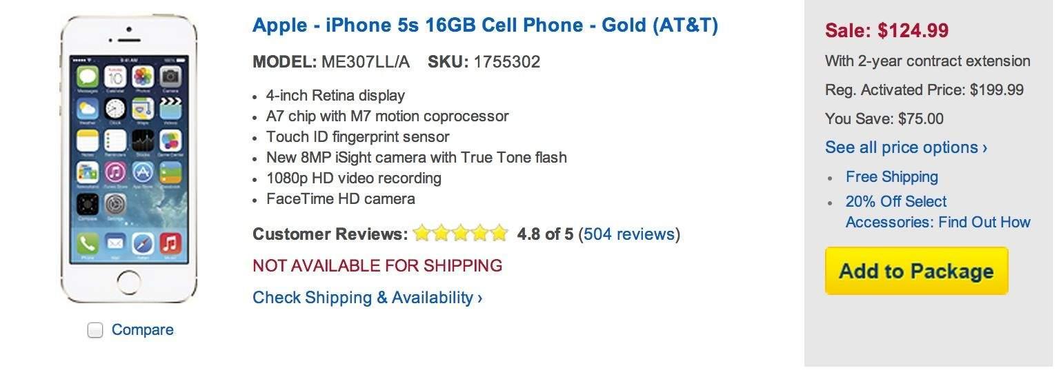 Best-Buy-125-iPhone-5s