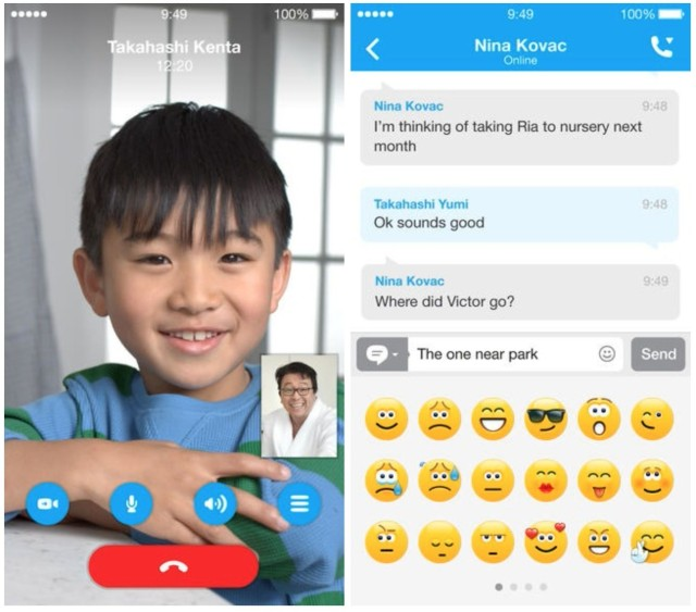 Skype adds hd video calling and improves text chatting on ios skype adds hd video calling and improves text chatting on ios ccuart Choice Image