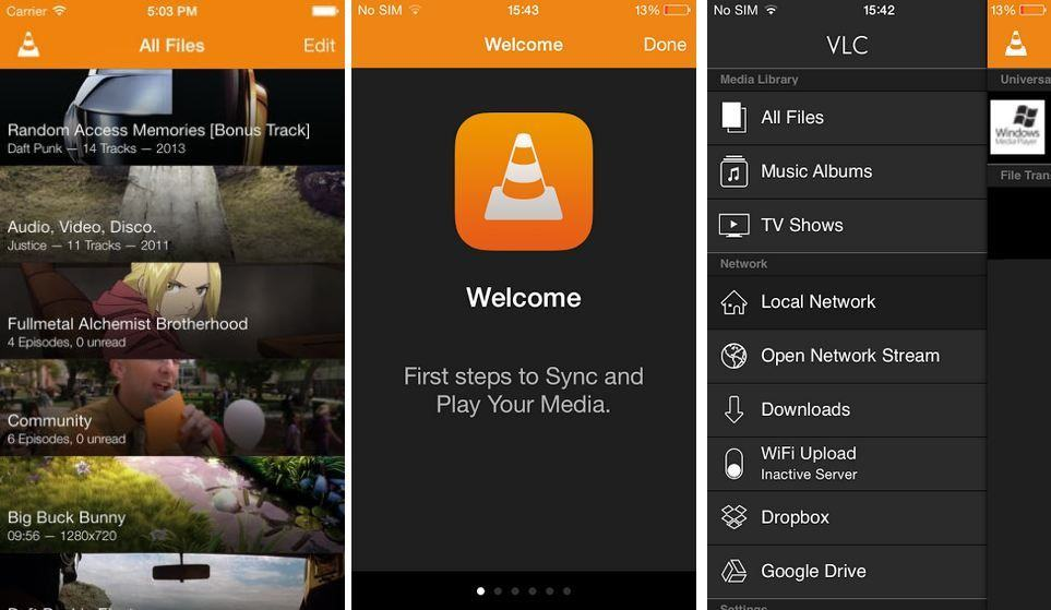 VLC-iOS-redesign