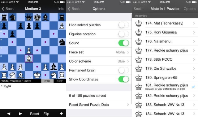 chess in 1