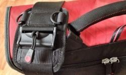 The shoulder strap cincher.