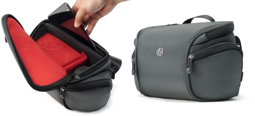 Booq S Python Mirrorless Bag Carries Camera And Ipad Mini