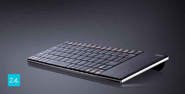 Rapoo S Ultra Slim Keyboard Has A Built In Trackpad Cult