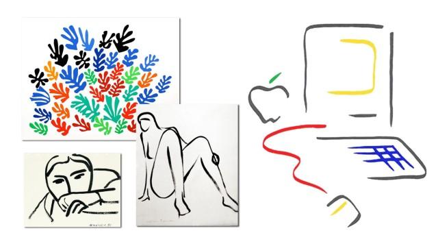 Matisse Picasso Artwork