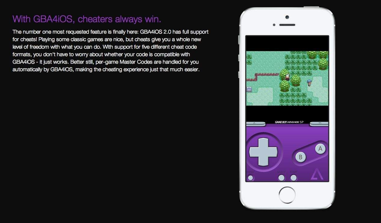 GameBoy Advance Emulator Coming To iOS 7 Devices    No Jailbreak