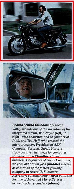 And here's how it appeared in the October 1982 issue of National Geographic