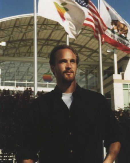 Bas Ording on his first day at Apple in 1998