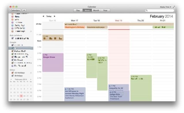 calendar 6 day