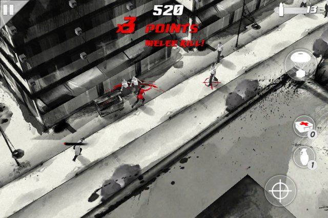 You gain extra points during missions for stringing together melee attacks