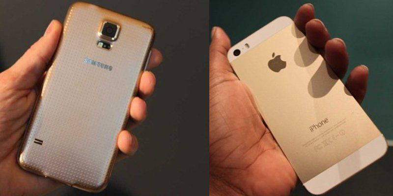 samsung galaxy s5 white vs black. samsung just revealed its latest flagship smartphone the galaxy s5 and not only is it waterproof, comes in four colors \u2013 black, white, blue gold. white vs black