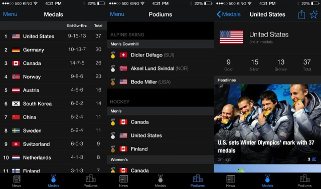 Winter Olympics coverage right on your iPhone